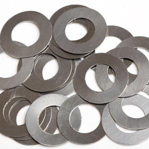 Shims STAINLESS STEEL hole 6, 8, 12