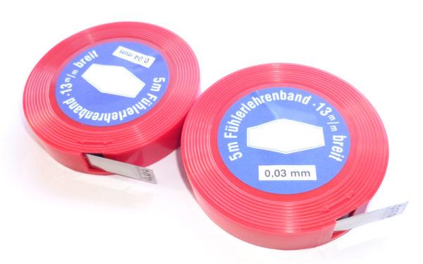 Spessimetro in acciaio 0.03 mm per boccole forcella