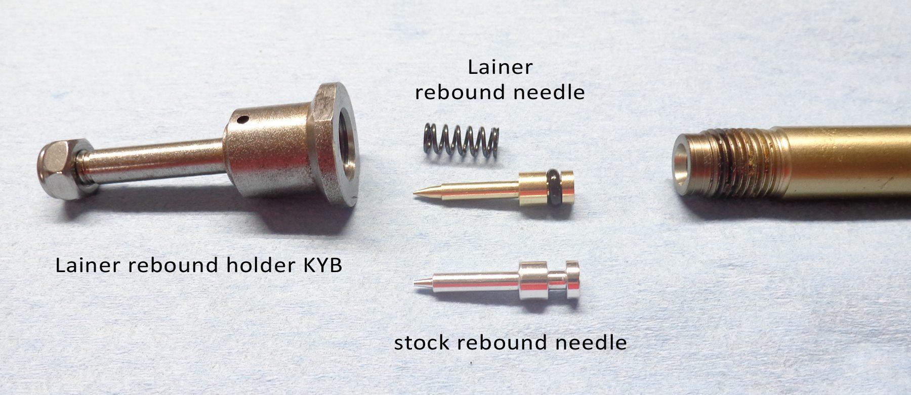 Rebound needle fork KYB (single)