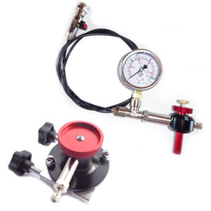 Combo WP Nitrogen charging tool + Schrader valve Nitrogen charging tool